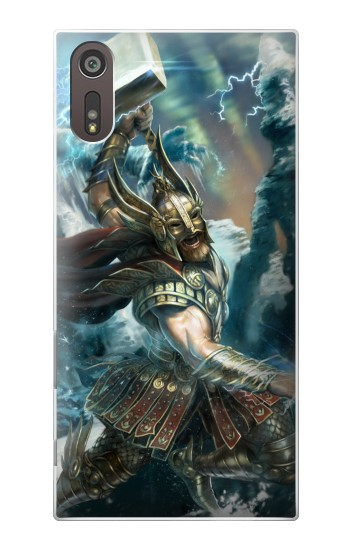 Printed Thor Viking God Sony Xperia XZ Case