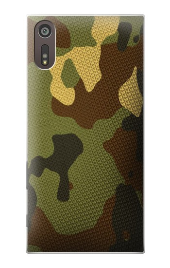 Printed Camo Camouflage Graphic Printed Sony Xperia XZ Case