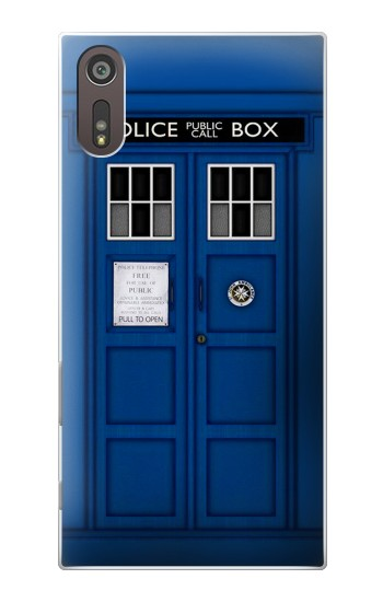 Printed Doctor Who Tardis Sony Xperia XZ Case