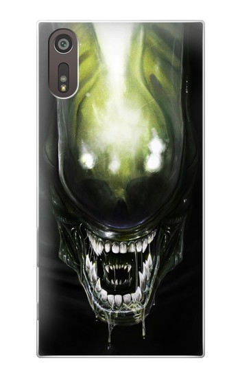 Printed Alien Head Sony Xperia XZ Case