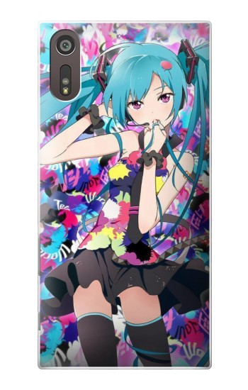 Printed Vocaloid Hatsune Miku Tell Your World Sony Xperia XZ Case