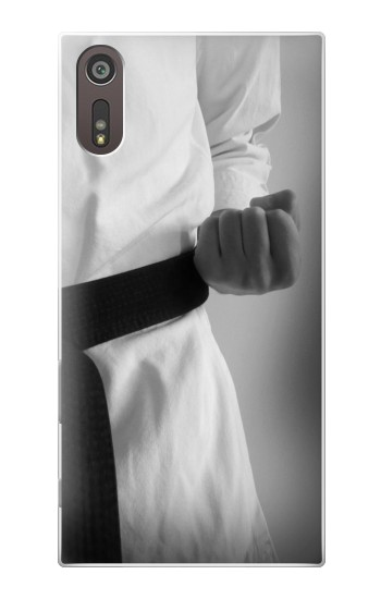 Printed Black Belt Karate Sony Xperia XZ Case