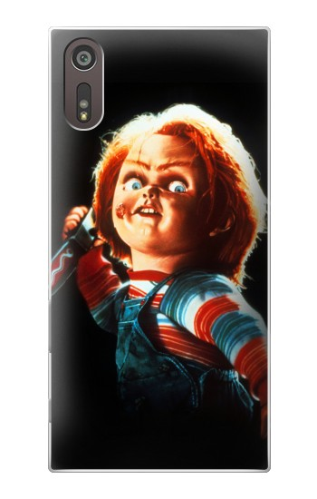 Printed Chucky With Knife Sony Xperia XZ Case