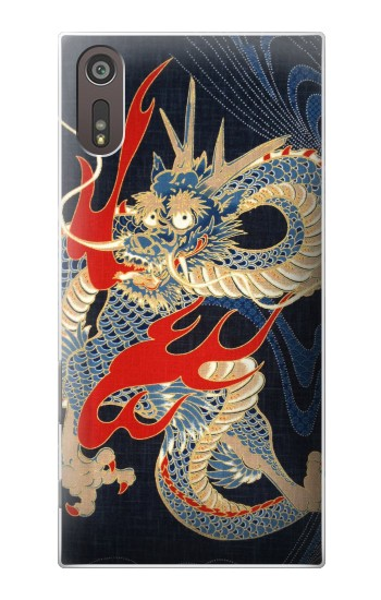 Printed Japan Dragon Art Sony Xperia XZ Case