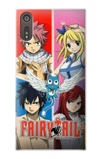 Printed Fairy Tail Member Sony Xperia XZ Case