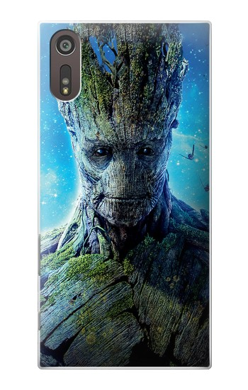 Printed Groot Guardians of the Galaxy Sony Xperia XZ Case