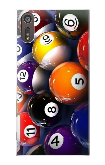 Printed Billiard Pool Ball Sony Xperia XZ Case