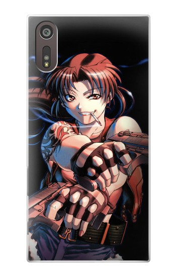 Printed Black Lagoon Revy Two Hands Sony Xperia XZ Case