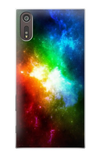 Printed Colorful Rainbow Space Galaxy Sony Xperia XZ Case