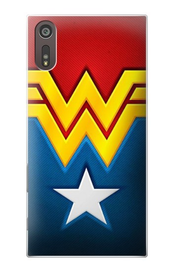 Printed Wonder Women Logo Sony Xperia XZ Case