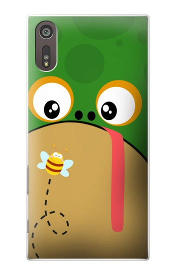 Printed Frog Bee Cartoon Sony Xperia XZ Case