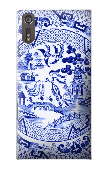 Printed Willow Pattern Illustration Sony Xperia XZ Case