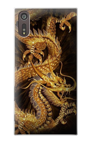 Printed Chinese Gold Dragon Printed Sony Xperia XZ Case