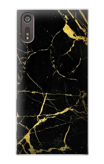 Printed Gold Marble Graphic Printed Sony Xperia XZ Case