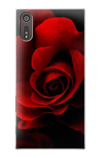 Printed Red Rose Sony Xperia XZ Case