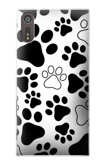 Printed Dog Paw Prints Sony Xperia XZ Case