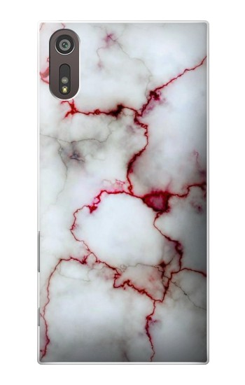 Printed Bloody Marble Sony Xperia XZ Case