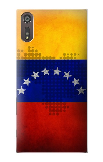 Printed Venezuela Map Flag Sony Xperia XZ Case
