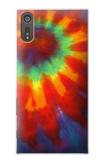 Printed Colorful Tie Dye Fabric Texture Sony Xperia XZ Case