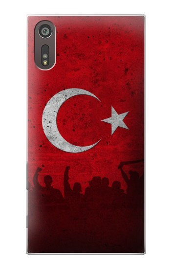 Printed Turkey Football Flag Sony Xperia XZ Case