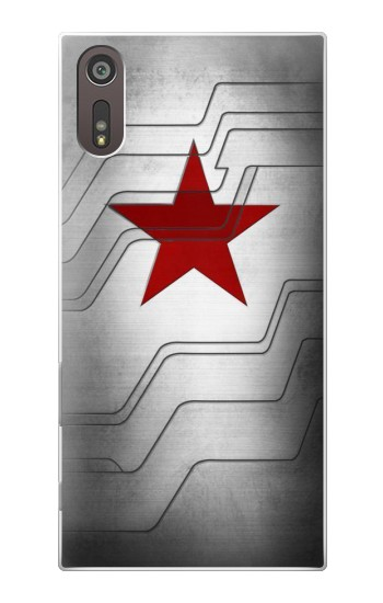 Printed Winter Soldier Bucky Arm Texture Sony Xperia XZ Case