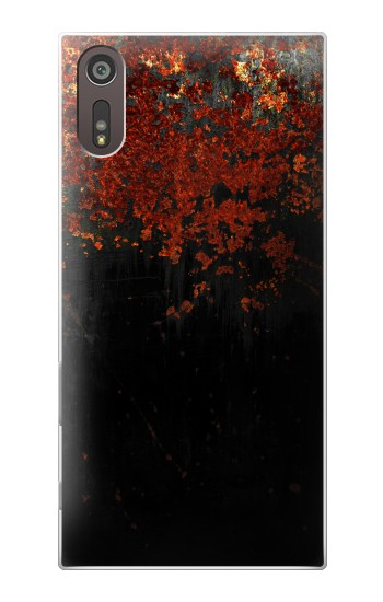 Printed Rusted Metal Texture Sony Xperia XZ Case