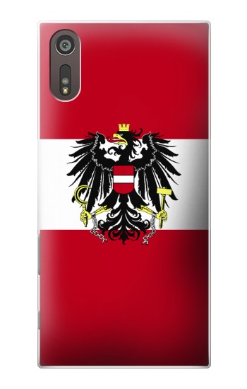 Printed Variant flag of Austria Sony Xperia XZ Case