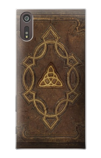 Printed Spell Book Cover Sony Xperia XZ Case