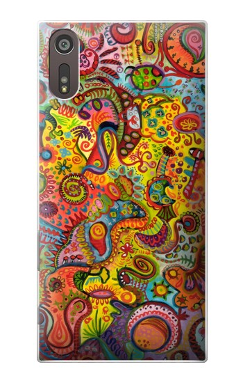 Printed Colorful Art Pattern Sony Xperia XZ Case