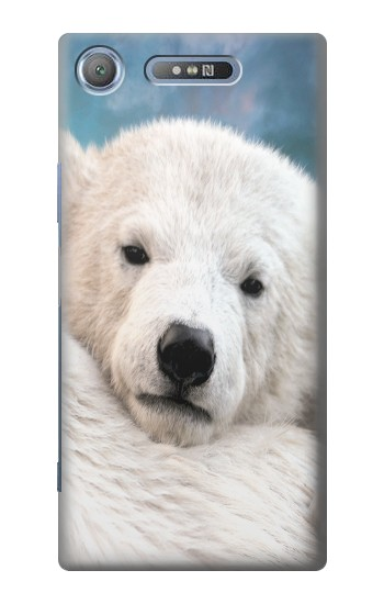 Printed Polar Bear Sony Xperia E3 Case