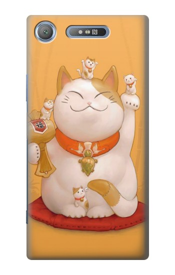 Printed Maneki Neko Lucky Cat Sony Xperia E3 Case