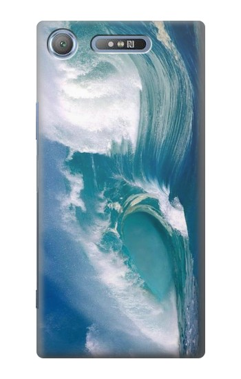Printed Amazing Oceans Waves Sony Xperia E3 Case