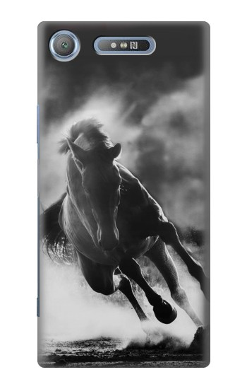 Printed Running Horse Sony Xperia E3 Case