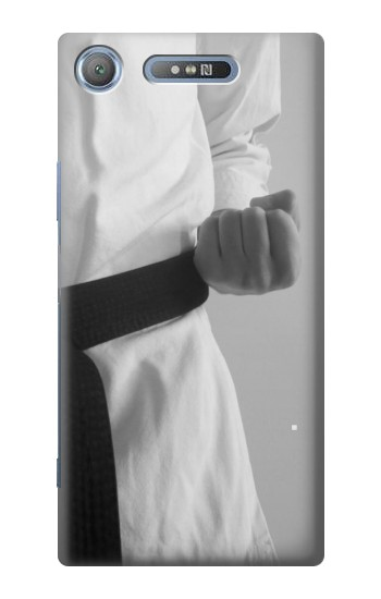 Printed Black Belt Karate Sony Xperia E3 Case