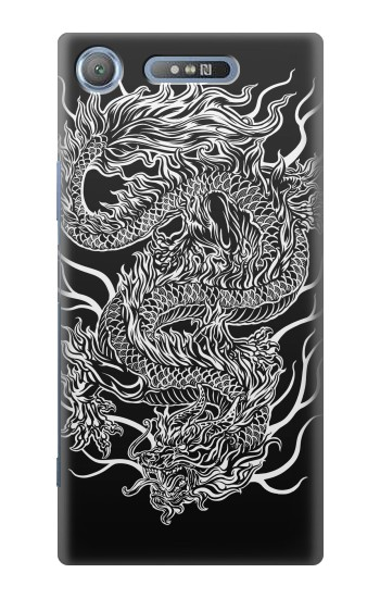 Printed Dragon Tattoo Sony Xperia E3 Case