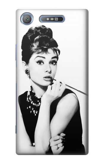 Printed Audrey Hepburn Breakfast at Tiffanys Sony Xperia E3 Case