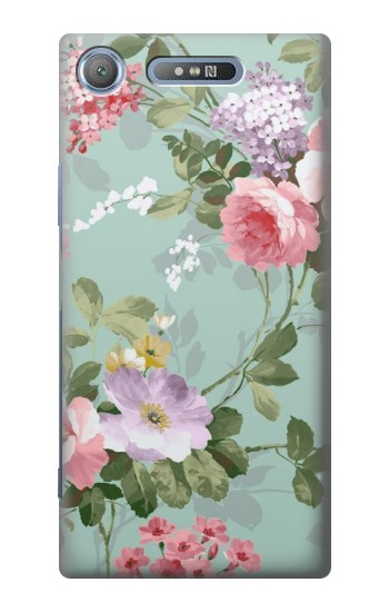 Printed Flower Floral Art Painting Sony Xperia E3 Case