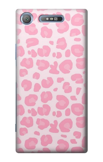 Printed Pink Leopard Pattern Sony Xperia E3 Case