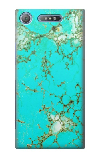 Printed Turquoise Gemstone Texture Graphic Printed Sony Xperia E3 Case