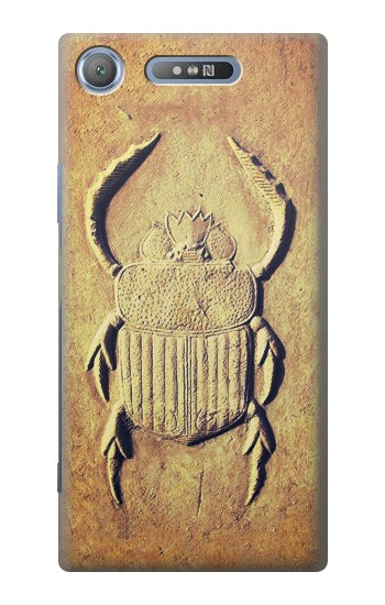 Printed Egyptian Scarab Beetle Graphic Printed Sony Xperia E3 Case