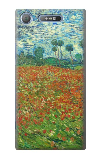 Printed Field Of Poppies Vincent Van Gogh Sony Xperia E3 Case