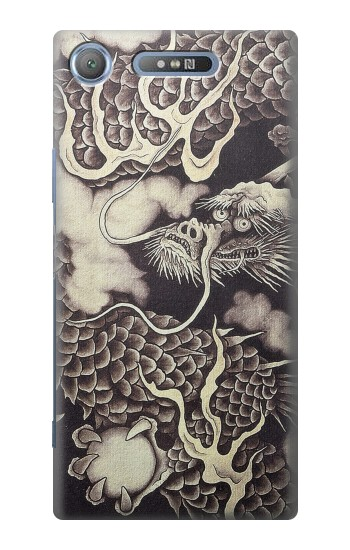 Printed Japan Painting Dragon Sony Xperia E3 Case