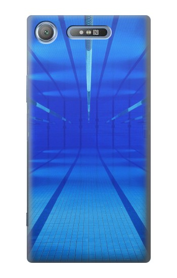 Printed Swimming Pool Under Water Sony Xperia E3 Case