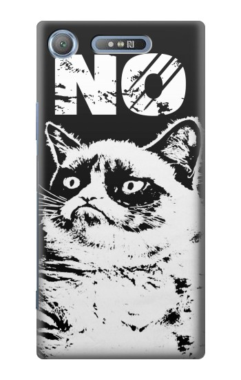 Printed Grumpy Cat No Sony Xperia E3 Case