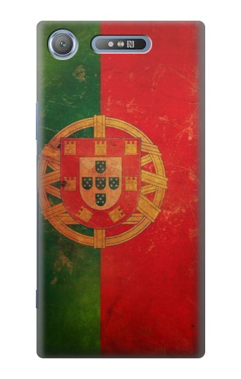Printed Vintage Portugal Flag Sony Xperia E3 Case