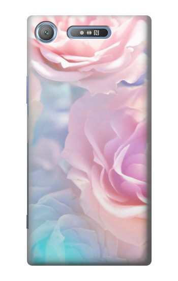Printed Vintage Pastel Flowers Sony Xperia E3 Case