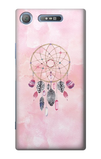 Printed Dreamcatcher Watercolor Painting Sony Xperia E3 Case