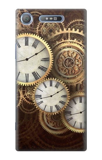 Printed Gold Clock Live Sony Xperia E3 Case