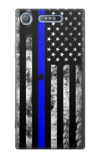 Printed Thin Blue Line USA Sony Xperia E3 Case