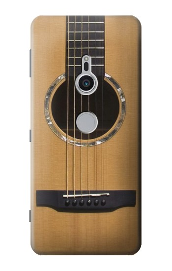 Printed Acoustic Guitar Sony Xperia XZ2 Case